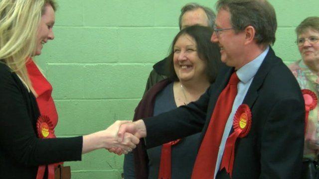 Labour celebrate a win