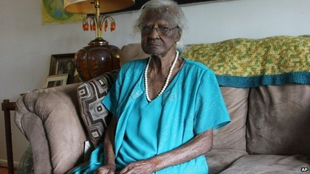 Oldest American celebrates 115th birthday
