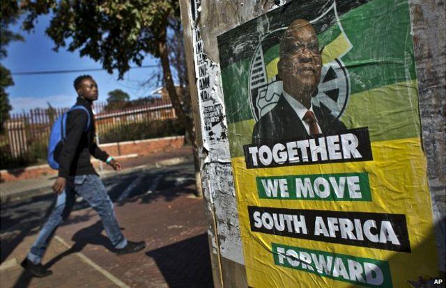 South Africa: President Jacob Zuma inaugurated in Pretoria