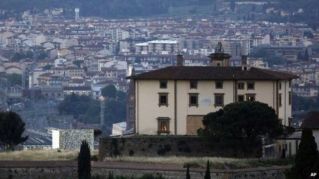 Forte Belvedere in Florence, Italy