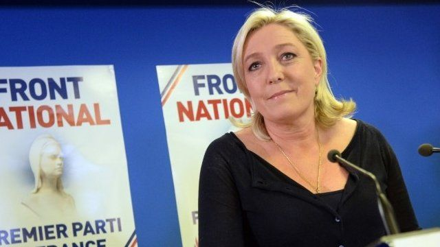French far-right Front National party president Marine Le Pen