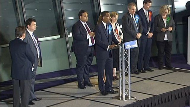 Elected MEPs