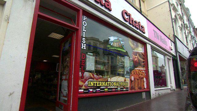 International food shop