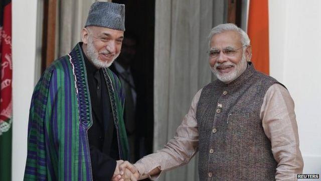India PM Narendra Modi presses Pakistan's Sharif on militants