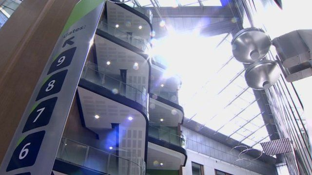 Inside the new Southmead Hospital in Bristol