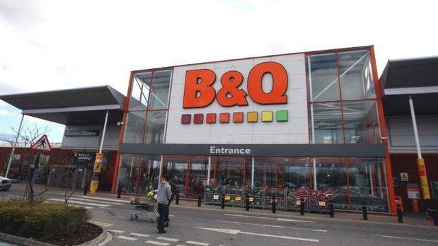 B&Q shop front