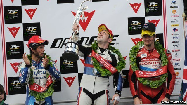 Dunlop wins Superbike opener at TT