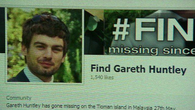 Facebook page for #findgareth