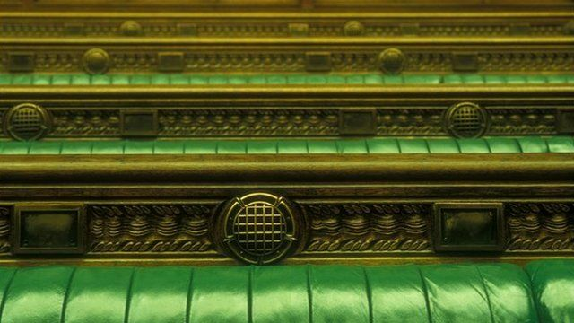Commons' benches