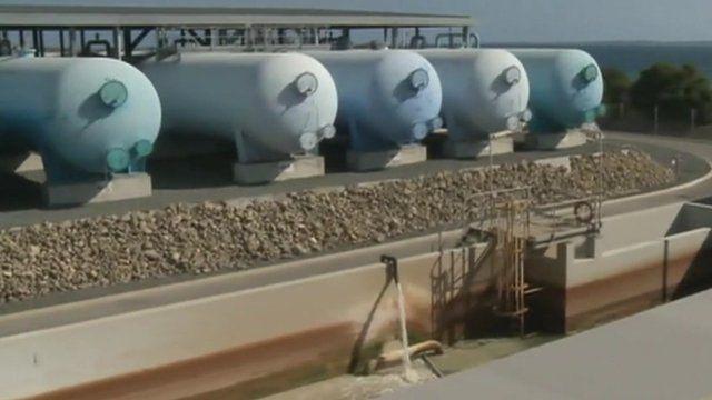 Desalination plant, Perth