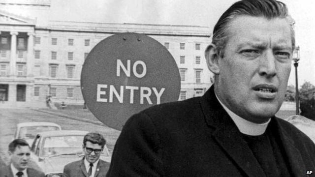 Ian Paisley has died