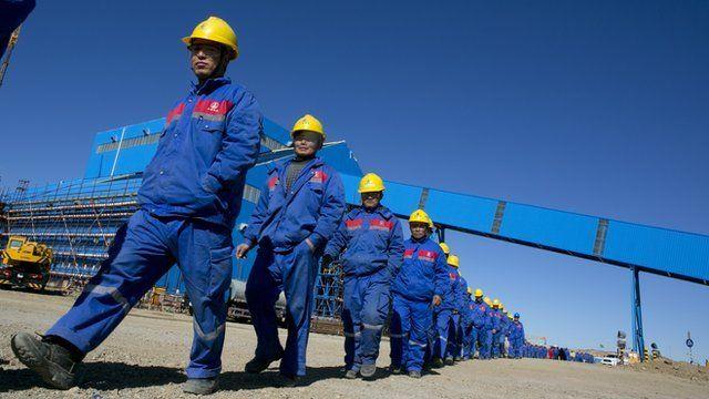 Miners, Mongolia