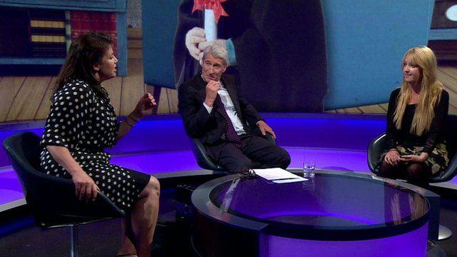 Kirstie Allsopp, Jeremy Paxman, Holly Baxter