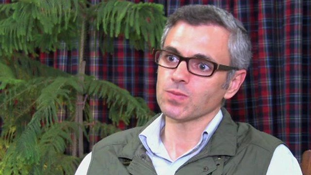Omar Abdullah, Chief Minister of Indian-administered Kashmir