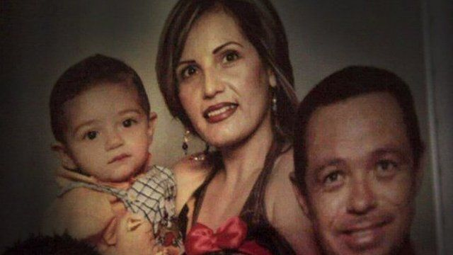 Family photograph of the Marquez family