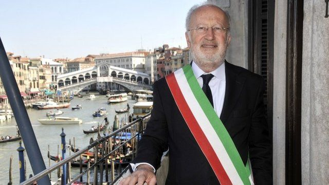 Venice's Mayor Giorgio Orsoni