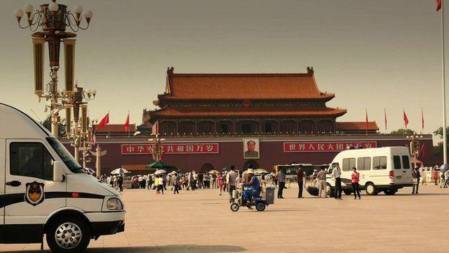 Security has been tightened in Beijing's Tiananmen Square