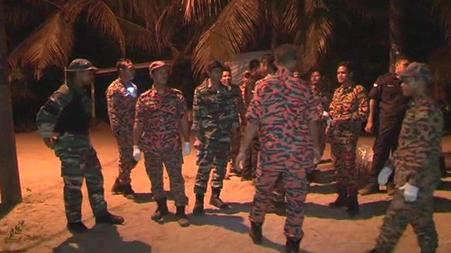 Police on Tioman island