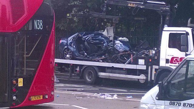 Collision in Lea Bridge Road