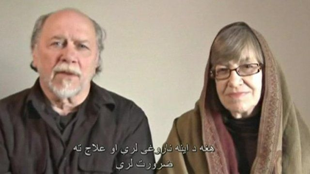 Video screenshot of the Colemans' appeal