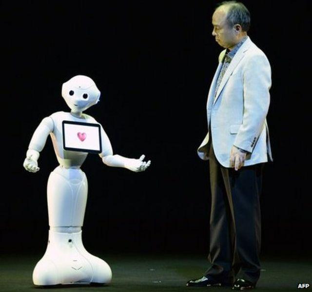 Softbank unveils 'human-like' robot Pepper