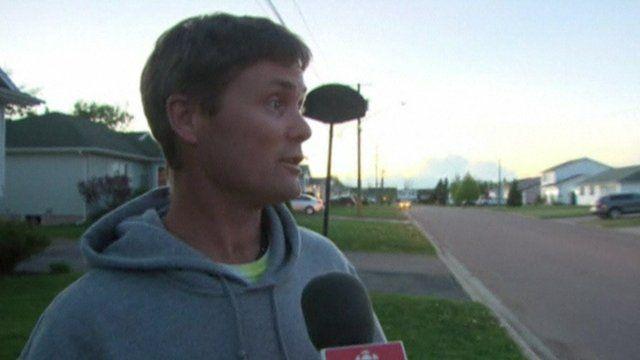 Eyewitness in Moncton