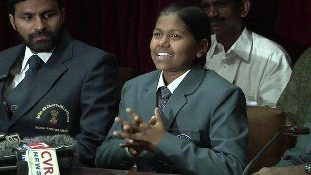 13-year-old Malavath Poorna
