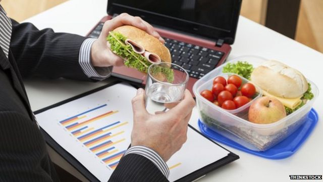 Employers urged to encourage lunch breaks for staff