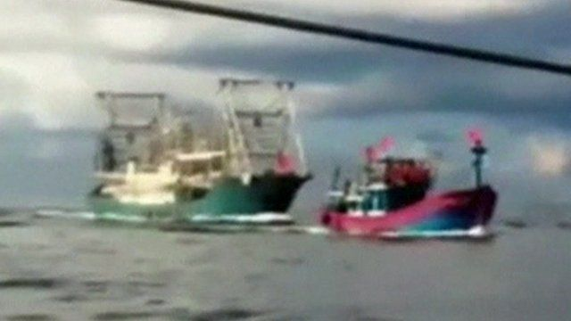 Chinese vessel chases down Vietnamese boat , claim Vietnam