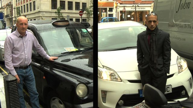 Uber Black Driver >> Get In The Cab With An Uber Driver And A Black Cab Driver To Hear Their Views