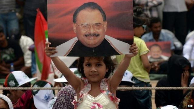 Pakistan MQM leader Altaf Hussain released