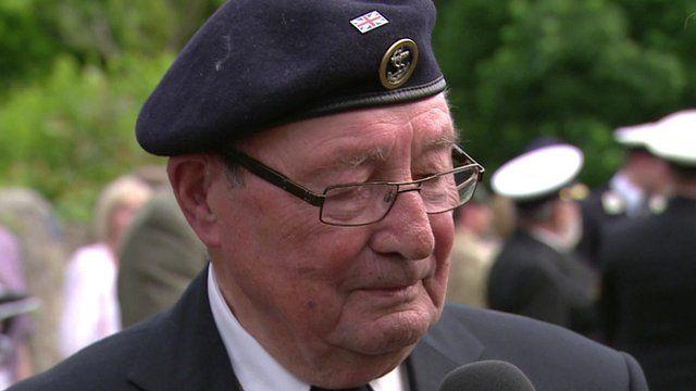 WWII veteran Fred