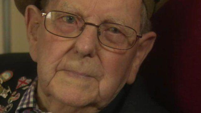 John Leishman recalls his very vivid memories of the conflict to Donna Traynor