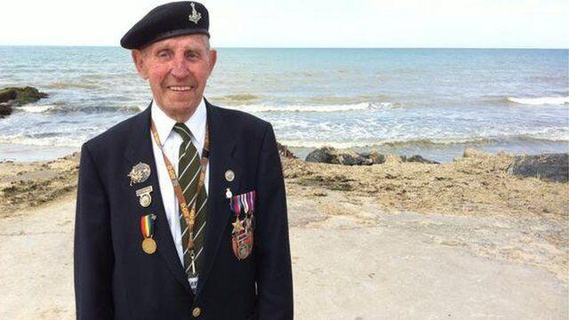 Ken Cooke in Normandy