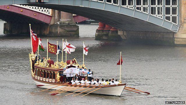 Queen's barge