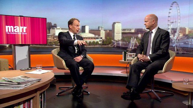 William Hague joins Andrew Marr
