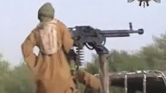 Boko Haram fighter - file image