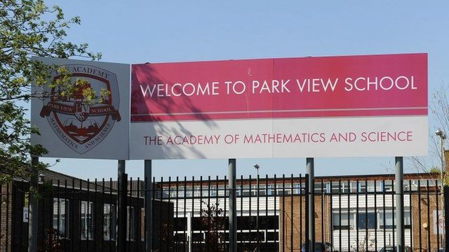 """Park View School in Birmingham. The school mired in the Islamist """"Trojan Horse"""" controversy."""