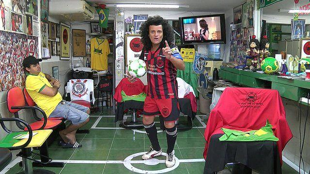 Former Ibis footballer Mario Shampoo