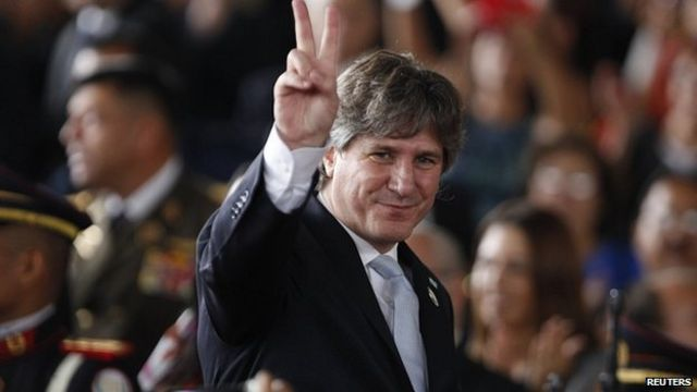 Argentine Vice-President Boudou charged in corruption case