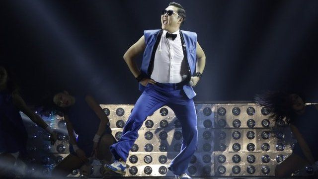"""South Korean rapper PSY performs during his concert """"All Night Stand"""" in Seoul, South Korea"""