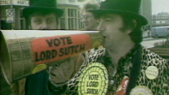 Archive image of Lord Sutch