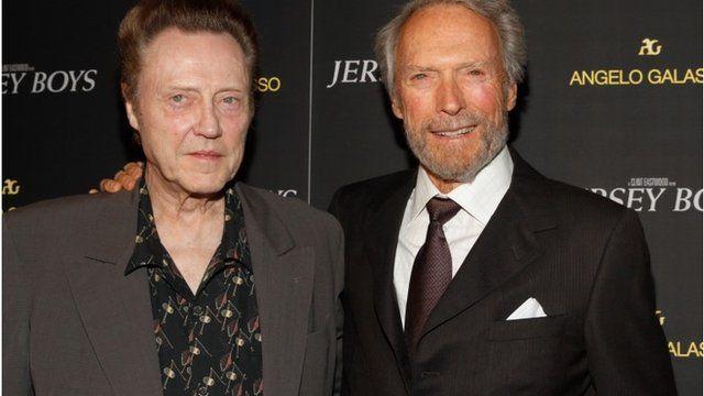 Christopher Walken and Clint Eastwood