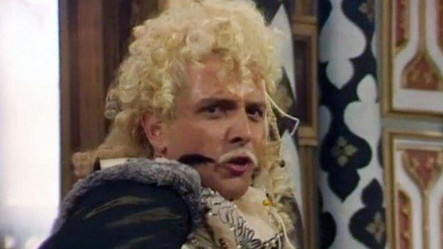 Rik Mayall as Lord Flashheart