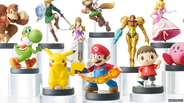E3: Getting to grips with Nintendo's new amiibo toys