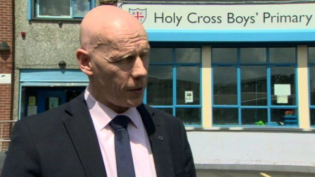 School Principal, Kevin McArevey paid tribute to the boy
