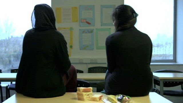 Image from a film produced as an aid to teaching about FGM in schools
