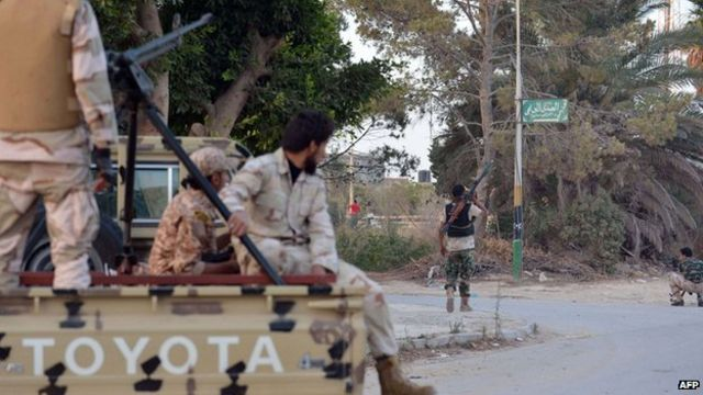 Libyan army checkpoint targeted by blast in Benghazi