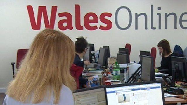 Wales Online office