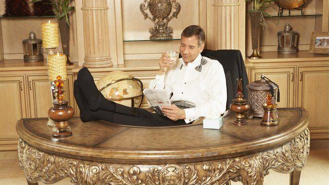 A rich man